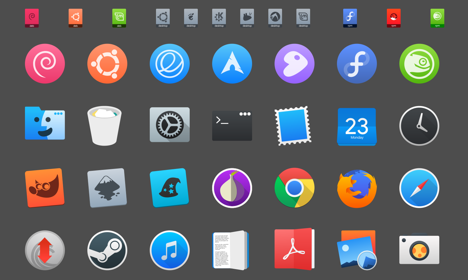 icon theme preview